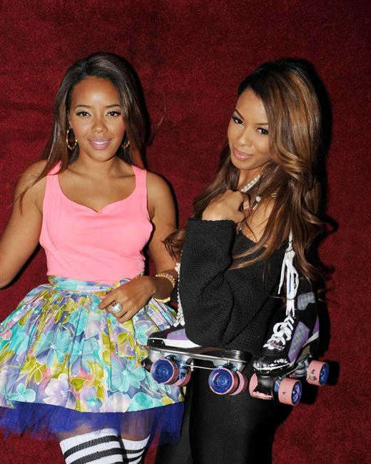 Angela and Vanessa Simmons
