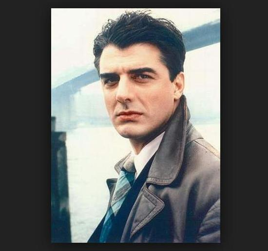 Chris Noth aka Mr. Big . . . He loves Black women and we love him.