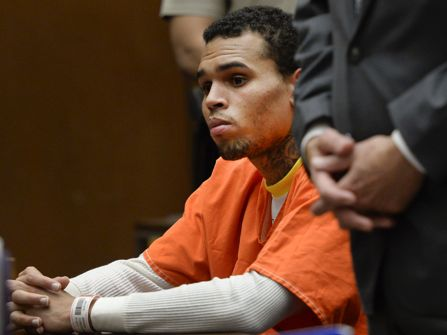 Chris Brown is currently in jail for violating his probation.