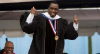 Honorary: Diddy spent some time at Howard University but never finished. This year he received an honorary Doctorate.