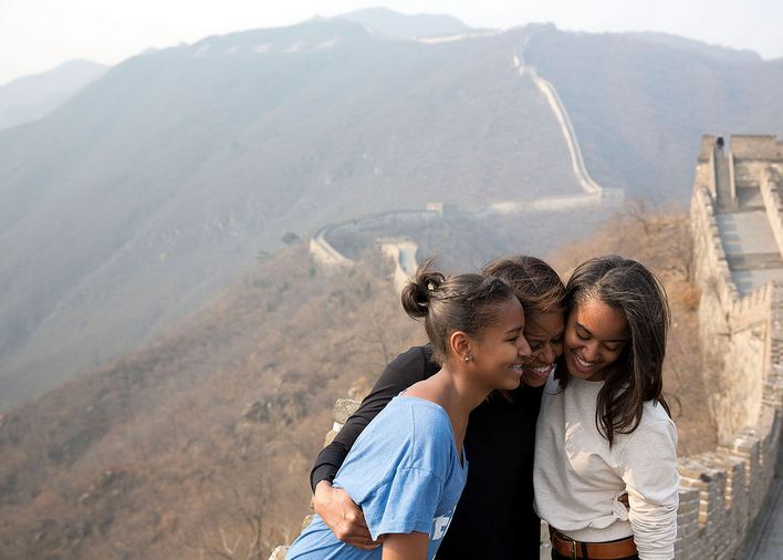 Happy Mother's Day to First Lady Michelle Obama, mom to Malia & Sasha.