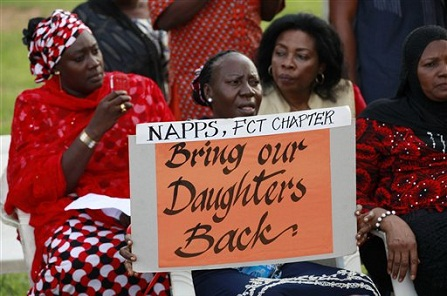 The return of the kidnapped girls in Nigeria.