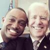 Terrence J & Joe Biden