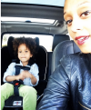 Tia Mowry-Hardrict with son Cree