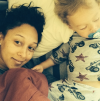 Tamera Mowry-Housley with her son Aiden