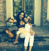 Mimi Faust with her daughter
