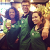 Oprah with Starbucks Baristas