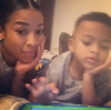 Keyshia Cole & her son