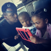 Ne-yo and his kids