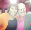 Kelly Price and Tom Joyner