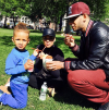 Alicia Keys, Swizz Beatz, and their son