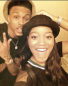 August Alsina and KeKe Palmer
