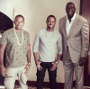 Ludacris, Terrence J, Magic Johnson