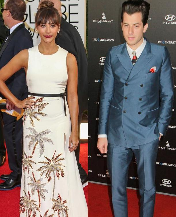 Rashida Jones & Mark Ronson