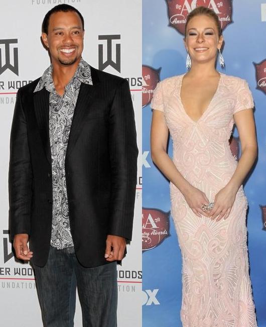 Tiger Woods & LeAnn Rimes