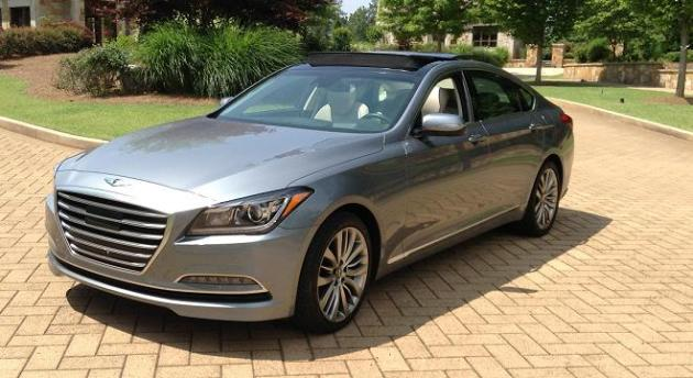 2015 hyundai genesis sedan earning every right to become the brand s new luxury flagship. Black Bedroom Furniture Sets. Home Design Ideas