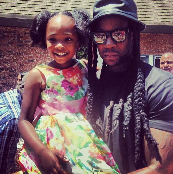 Heaven is one of two daughters of 2 Chainz