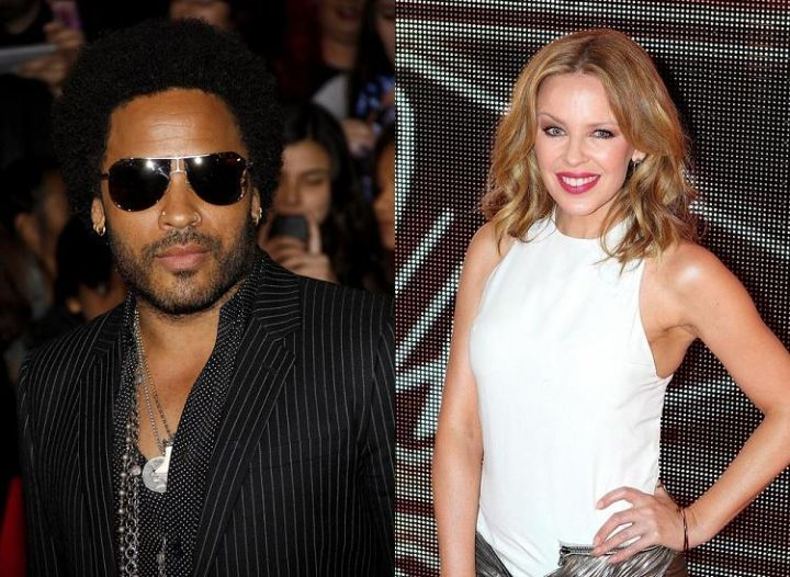Kylie Minogue & Lenny Kravitz