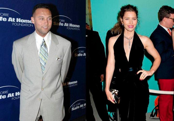 Jessica Biel & Derek Jeter