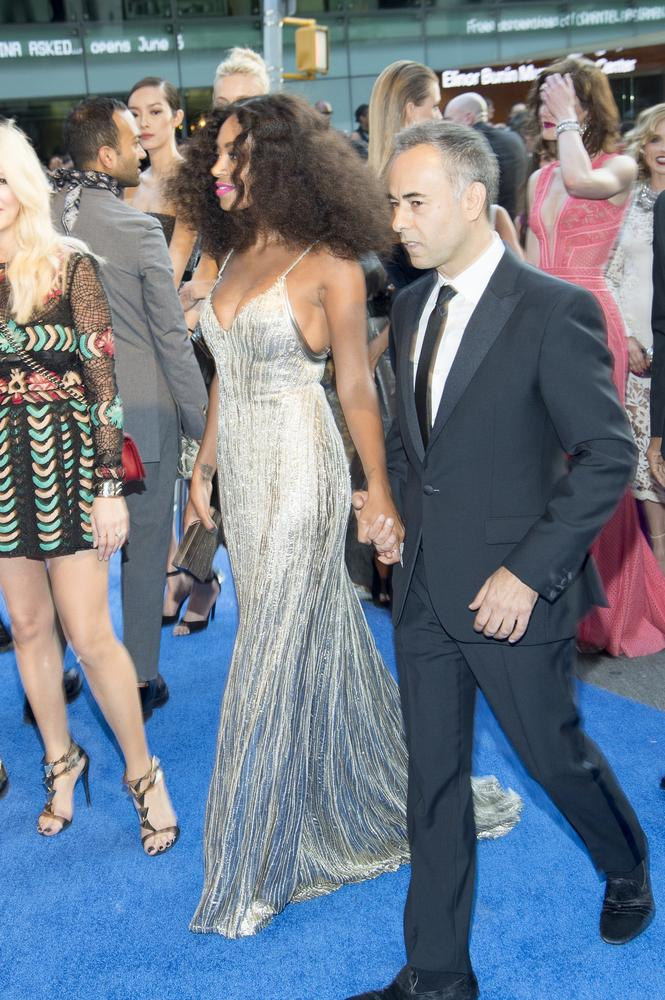 Solange Knowles and Francisco Costa