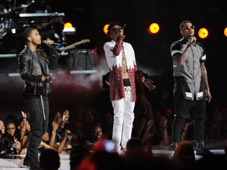 Trey Songz, August Alsina and Chris Brown