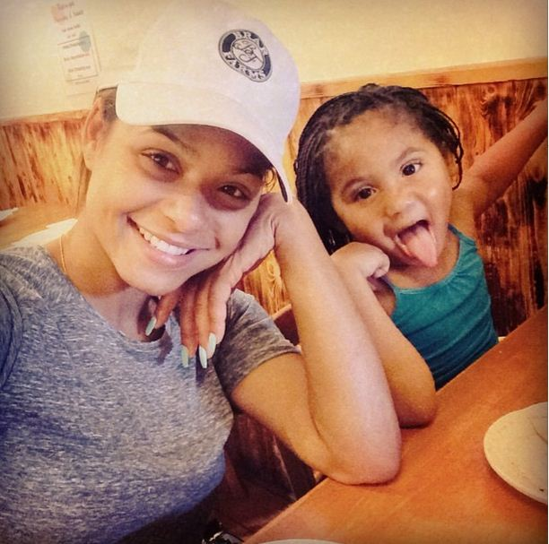 Violet is the daughter of Christina Milian and The Dream
