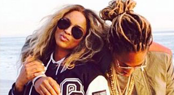 Future Jr. is the son of Ciara and Future