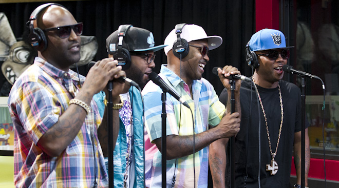 "Jagged Edge Performs ""Hope"""