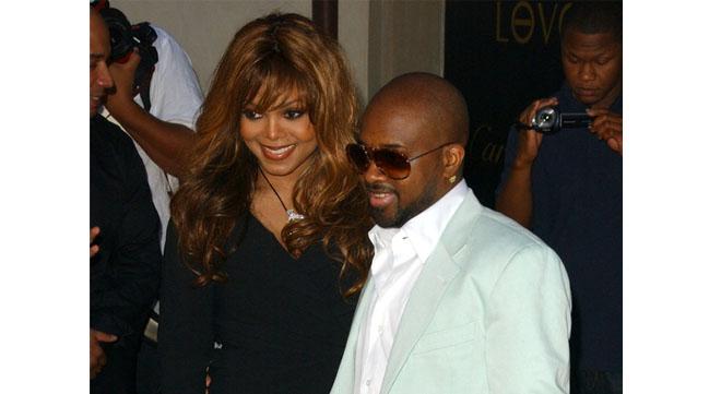 Janet Jackson and Jermaine Dupree