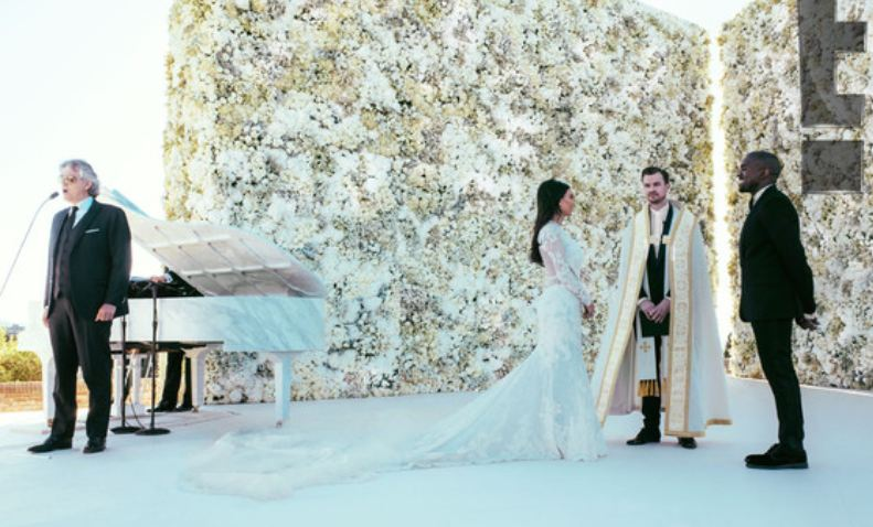 New Photos Released From Kim And Kanyes Wedding PHOTOS