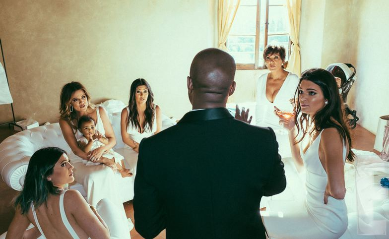 New Photos Released From Kim And Kanye's Wedding [PHOTOS