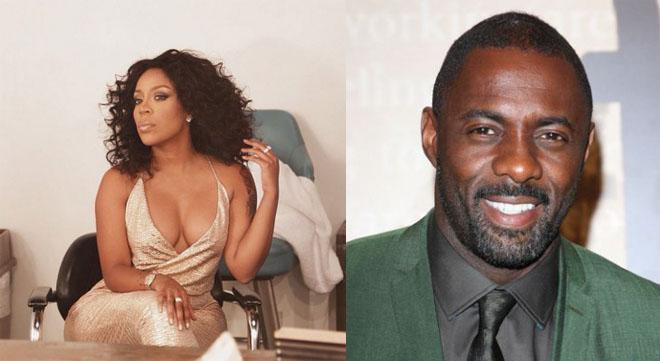 K. Michelle & Idris Elba
