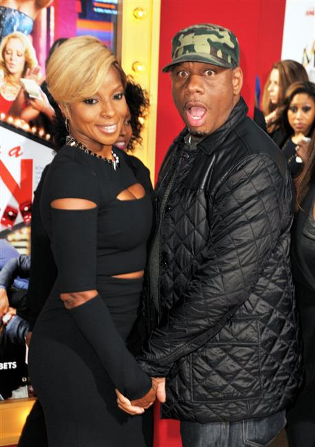 Mary J Blige and hubby Kendu