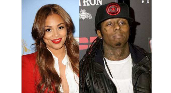 Lauren London and Wayne