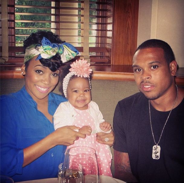 Laiyah is the daughter of Monica and Shannon Brown
