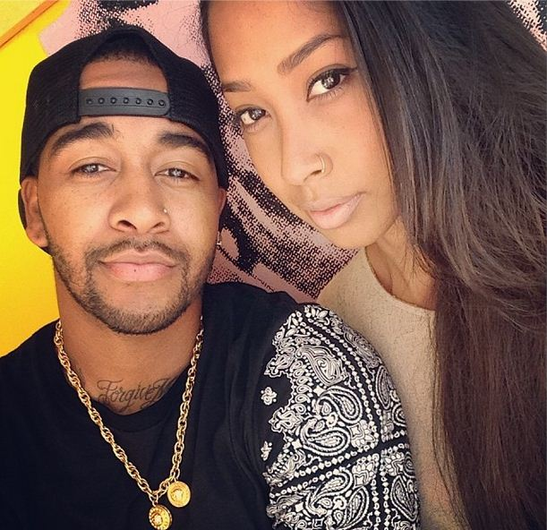 Omarion and April Jones