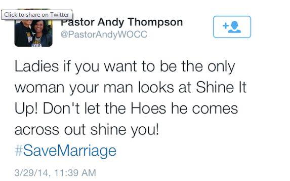 PastorAndyThompsonTweet