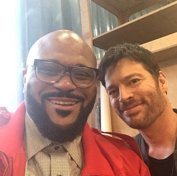 Rubben Studdard and Harry Connick Jr.
