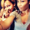 Meagan Good and her sister