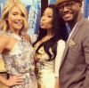 Kelly Ripa, Nicki Minaj, and Taye Diggs