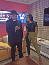 Rev Run and Angela Simmons