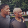 Michael Strahan and his dad