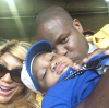 Tamar Braxton, Vince Herbert, and their son