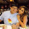 Adrienne Bailon and her dad