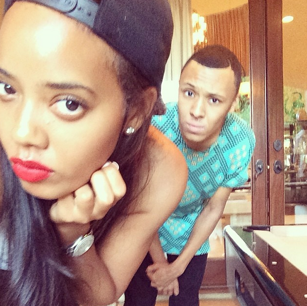 Angela and Russy Simmons