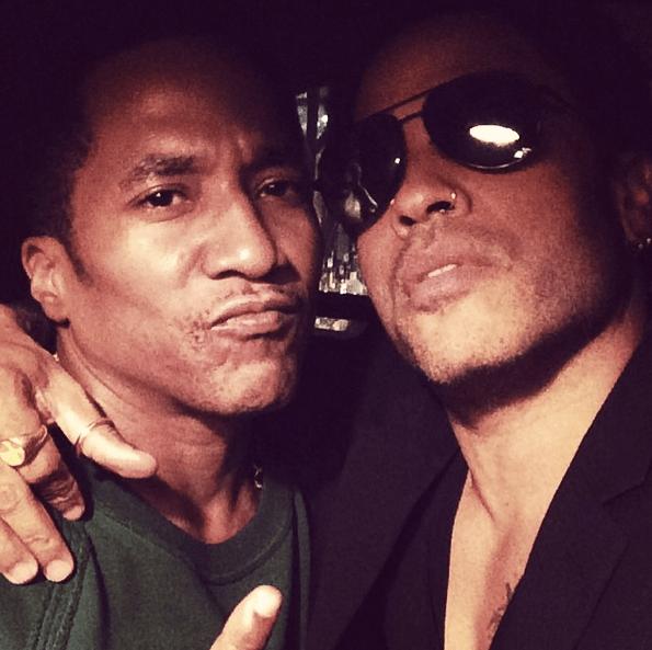 Q-Tip and Lenny Kravitz