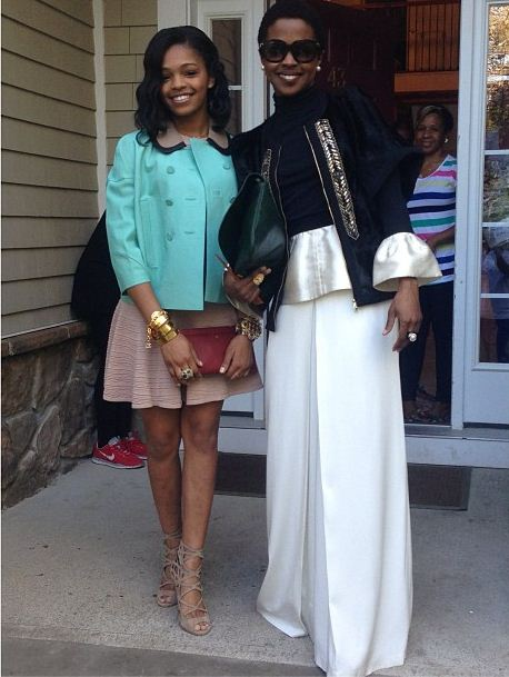 Selah and her mom Lauryn Hill