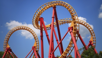 Looping Roller Coaster ride