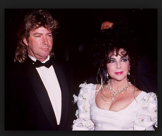 Liz Taylor & Larry Fortensky
