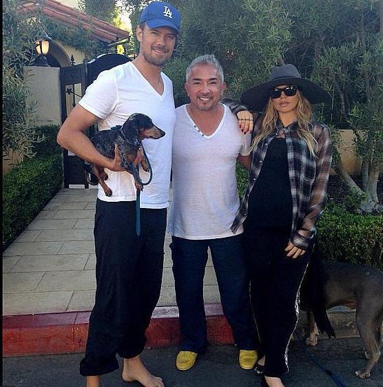 Josh, Cesar Millan & Fergie